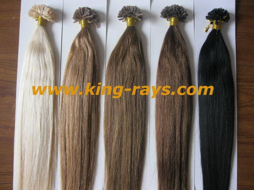 Keratin Nail Tip Hair Extensions 39
