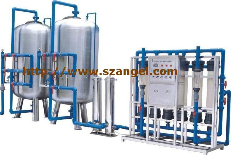 15ton/H Mineral Water Treatment System