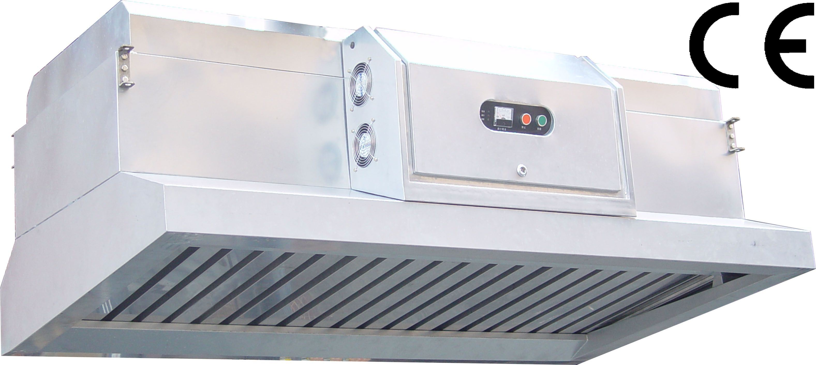 Kitchen Air Cleaner : China kitchen ventilation hood with electrostatic air