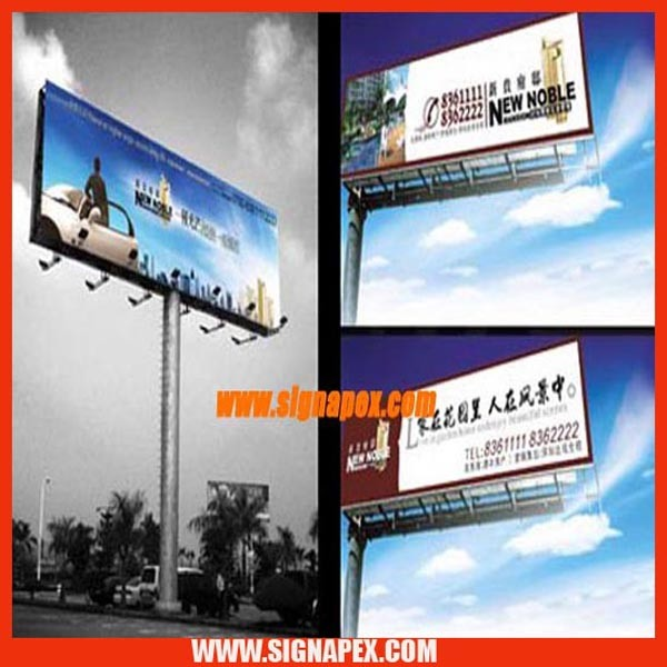 High Quality Frontlit Flex for Solvent Digital Printing
