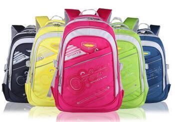 Five Colors Kid′s School Backpack Bags