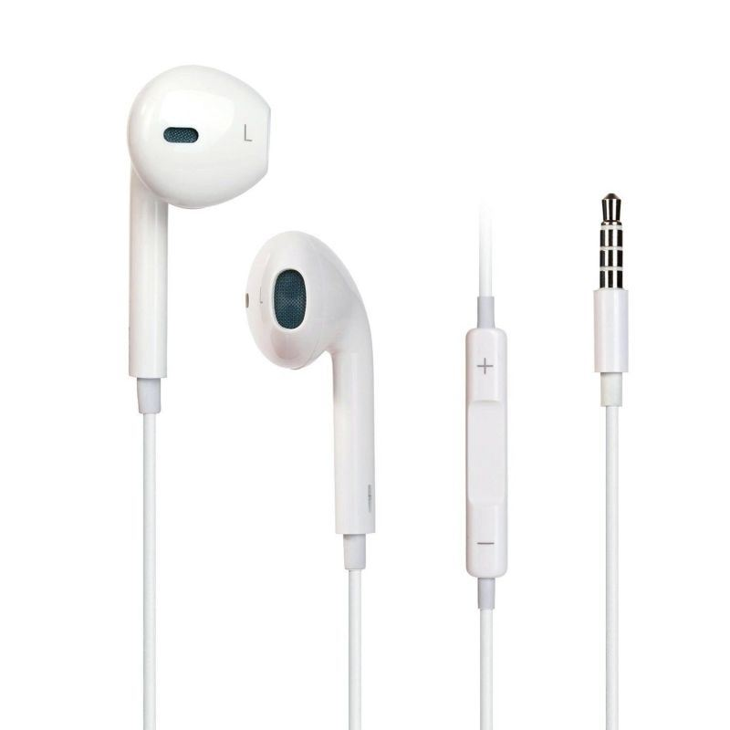 3.5mm Earpods for iPhone Earphones with Mic and Remote