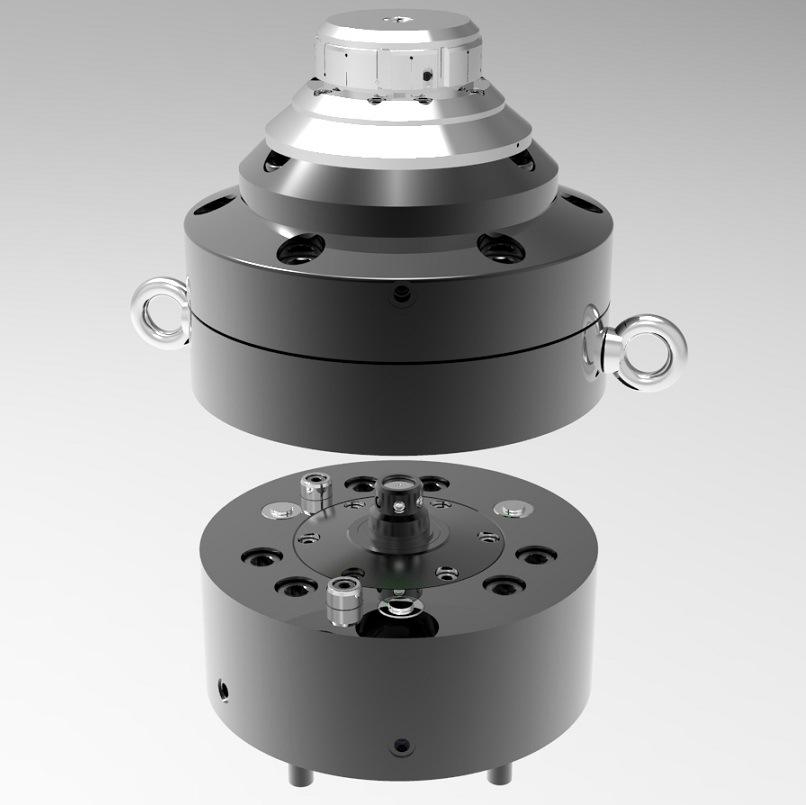 Gear Shaft Lathe Hydraulic Workholding