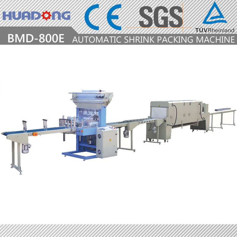 Automatic Bottom Lap Sealing Shrink Packing Machine