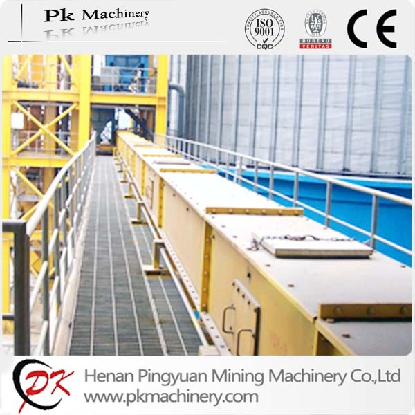 Enclosed Heat-Resistant Sinter Chain Scraper Conveyor