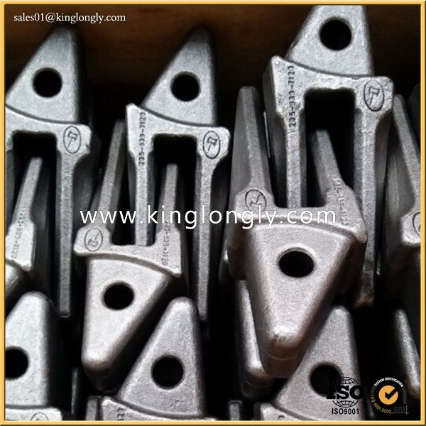 Daewoo Parts Steel Forging Bucket Teeth for Excavator Spare Parts and Construction Machinery