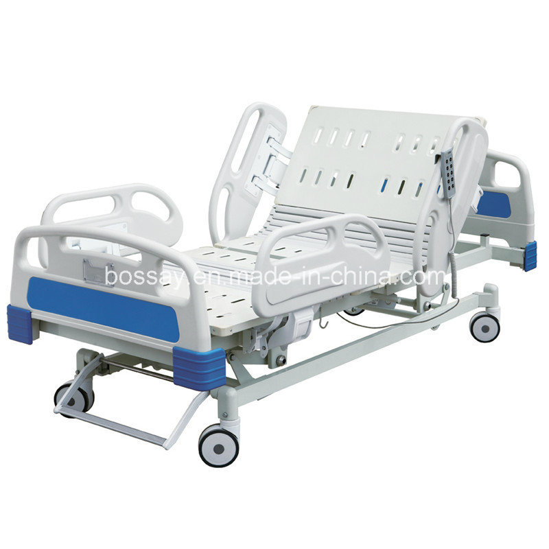 Five Function Electric Hospital Furniture ICU Bed Hospital Bed (BS-858)