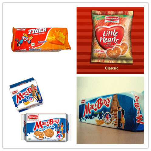 Metallised Polyester Film for Biscuits Packing