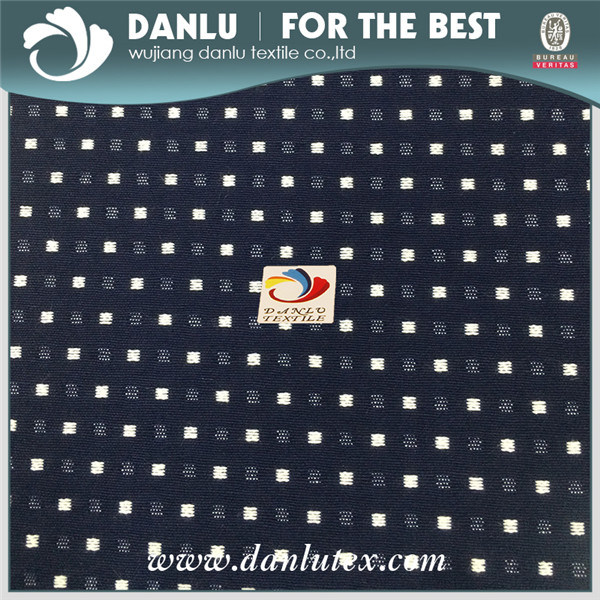 Rayon Nylon Spandex Plaid Grosgrain Stretch Fabric for Lady Dress