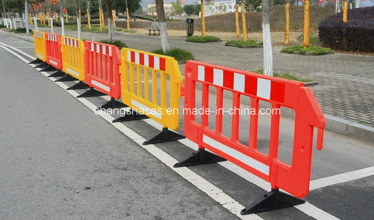 China beautiful plastic portable safety fence barrier