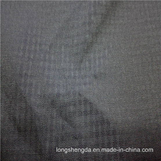 75D Water & Wind-Resistant Anti-Static Sportswear Woven Plaid Jacquard 100% Polyester Fabric (E153)