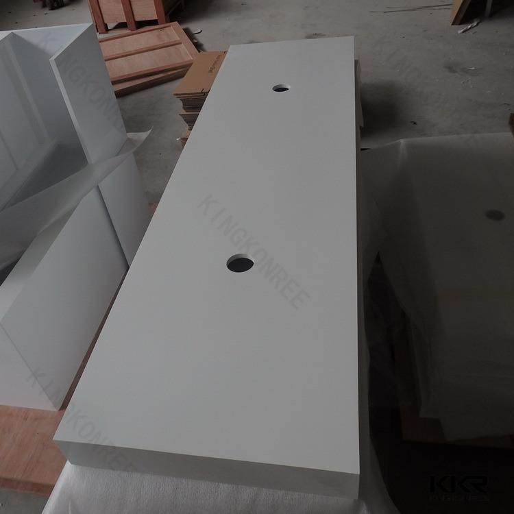 Customized Quartz Stone Vanity Top for USA Market