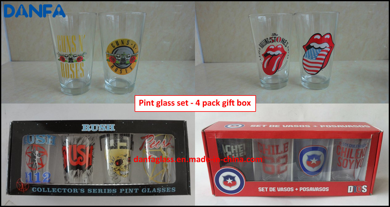 16oz & 20oz Pub Glass / Mixing Glass / Pint Glass