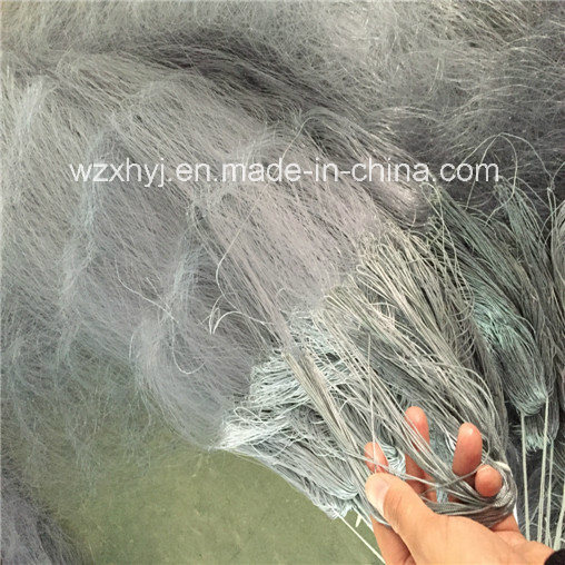 0.38mmx400mm Gray Multi Edge Monofilament Fishing Net on Sale