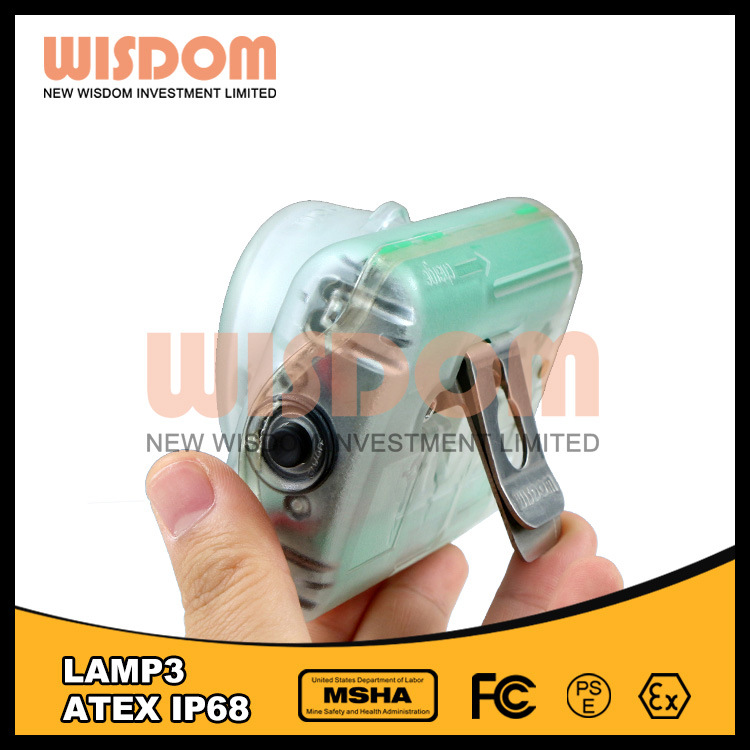 Wisdom Waterproof Safety LED Coal Miner Cap Lamp/LED Lighting