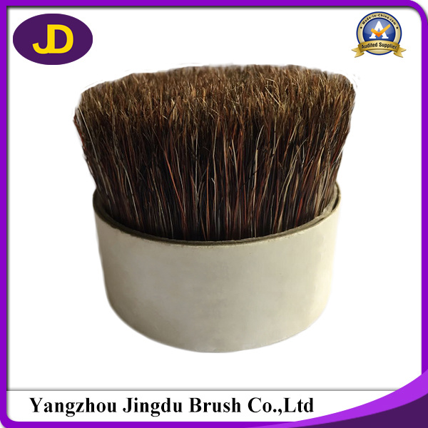Natural Grey Color Soft Boiled Pig Hair Bristle