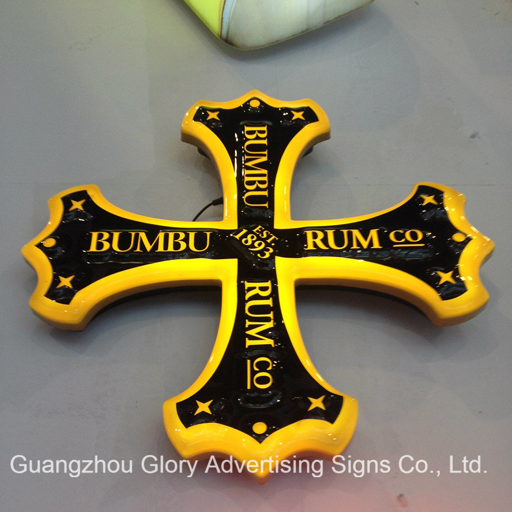 Bumbu Rum Illuminated Sign Pub Light Box