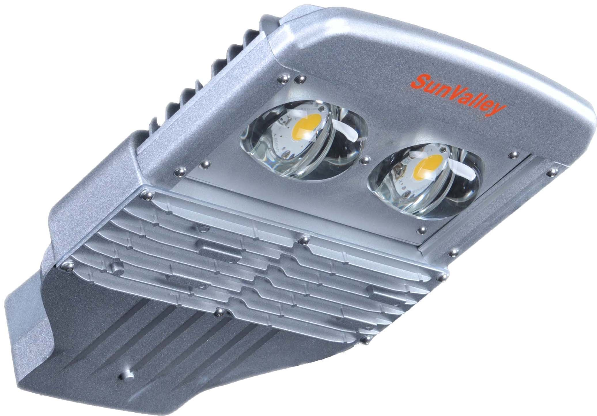 60W LED Street Light with UL IP66 Type II (Semi-Cutoff)