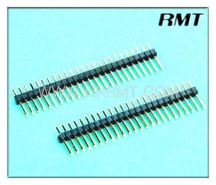 Pin Header 1.00mm Single 180 Degree