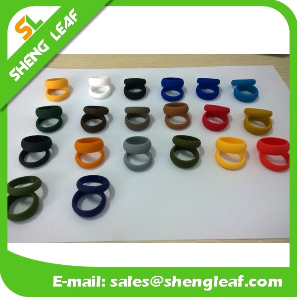 Promotional Items Silicone Rubber Finger Ring (SLF-SR005)