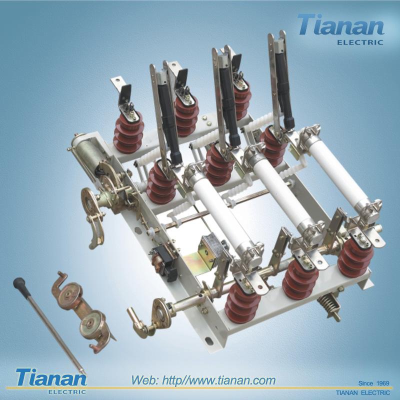 Load Break Switch Combination Fuse 12kv High Voltage Load Break Switch