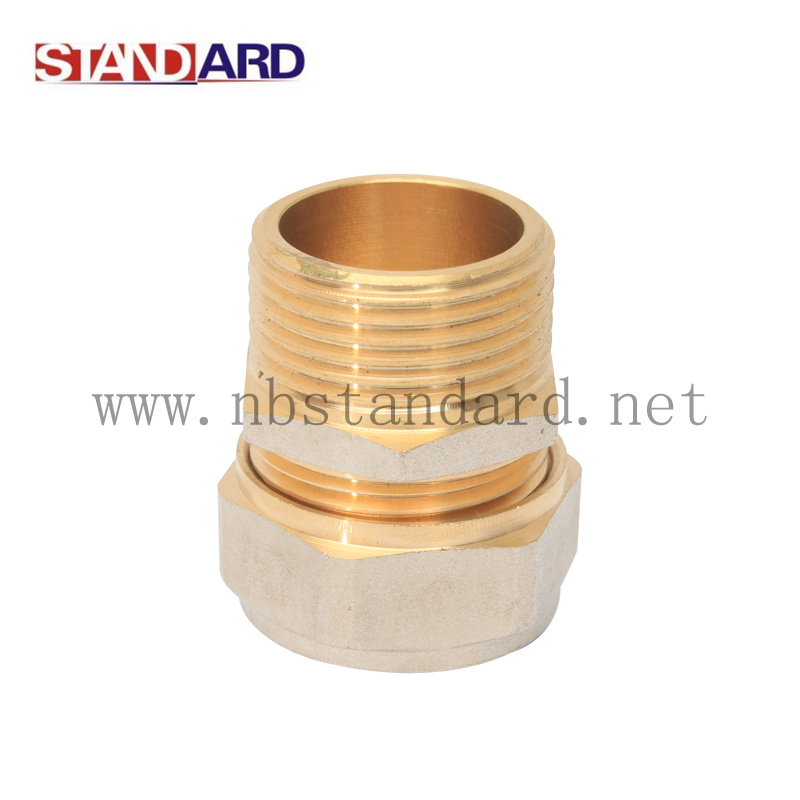 Male Compression Coupling Fitting