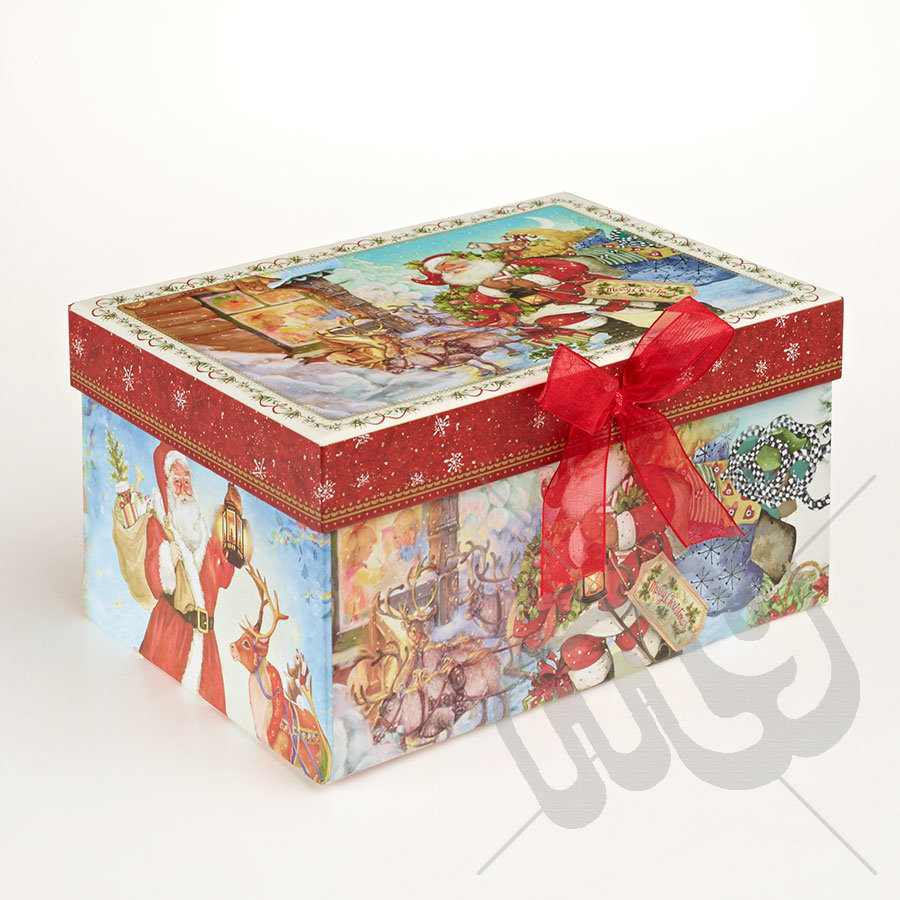 China paper cookies box for christmas day photos