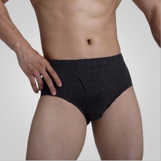 Cheap Customize Brand Sexy Cotton Men Classic Briefs