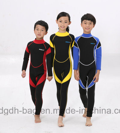 Neoprene Diving and Surfing Wetsuit for Children