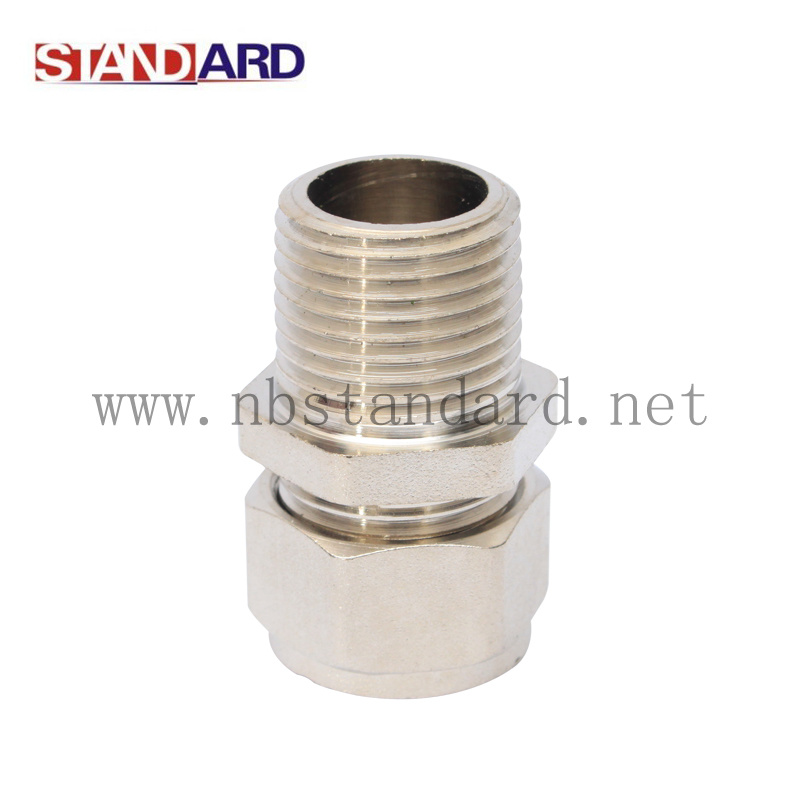 Female Straight Coupling Compression Fitting