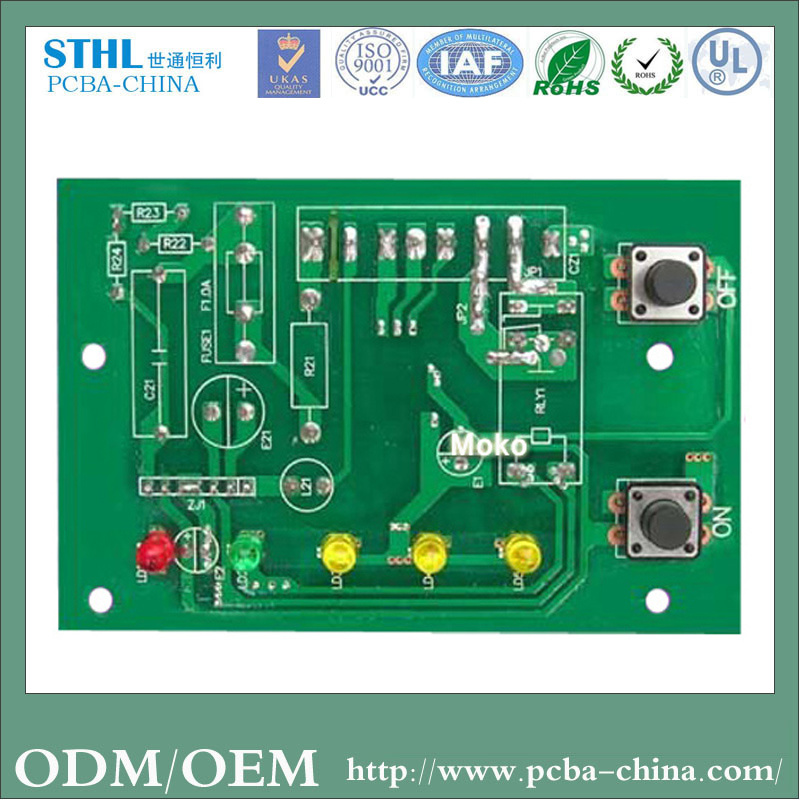 China Professional Fr-4 OEM Electronic PCBA for Set Top Box
