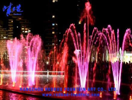 2014 100-Metre Music Fountain in Iran