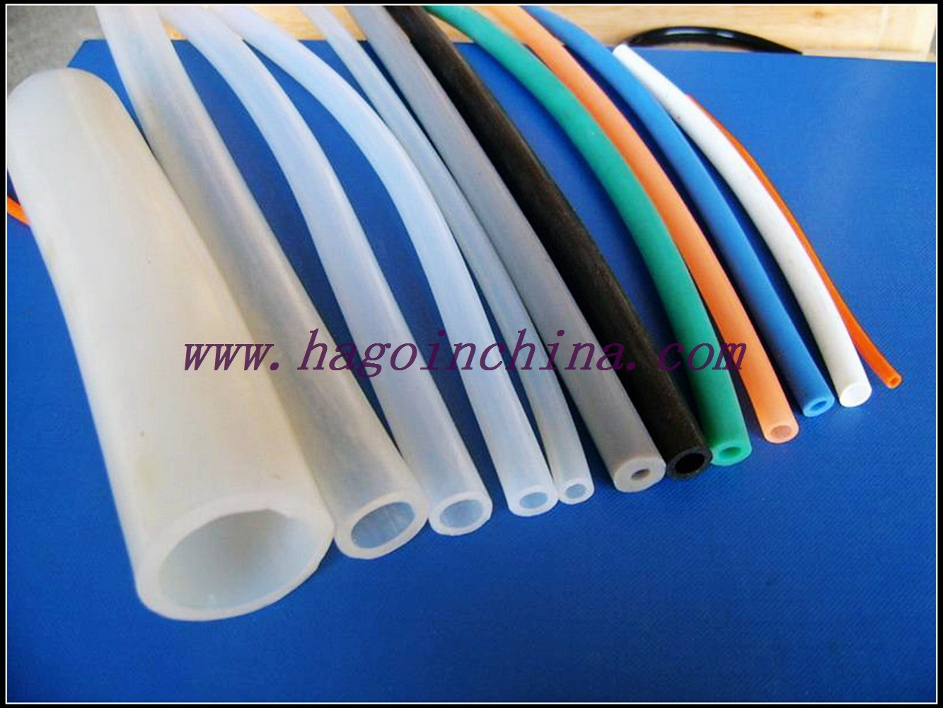 Qingdao Customized Silicone Rubber Tubing