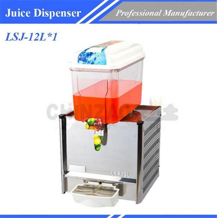 Kitchen Equipment Cold Juice Dispenser Lsj-12L