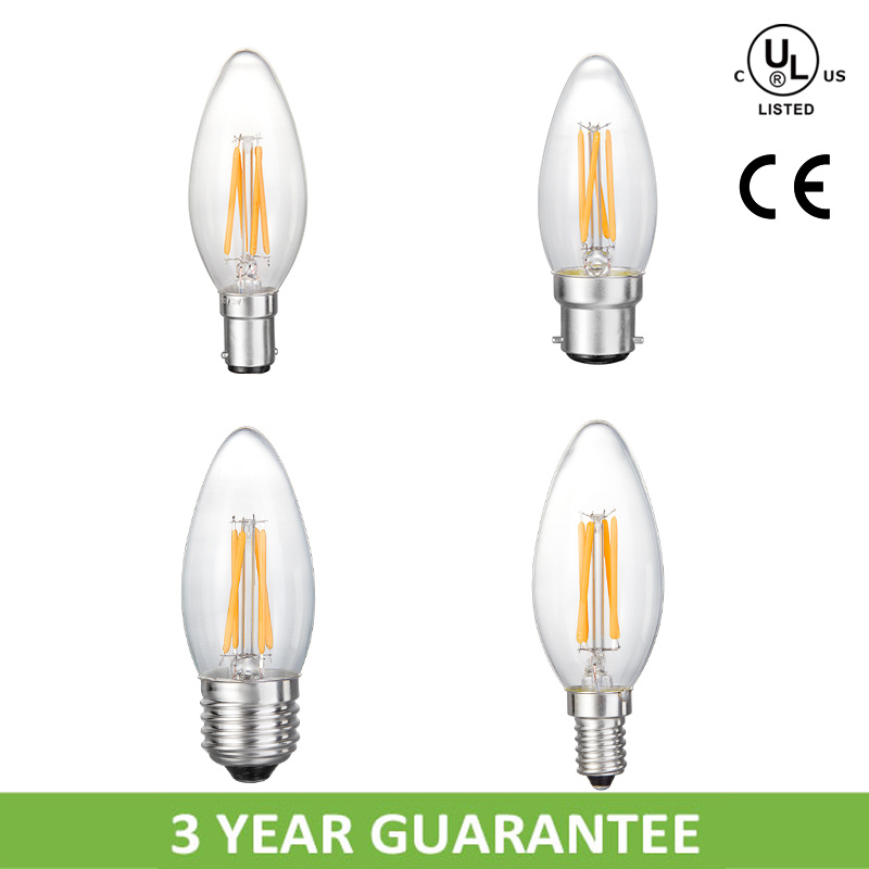 LED Global C35 3.5W E14 Candle Light