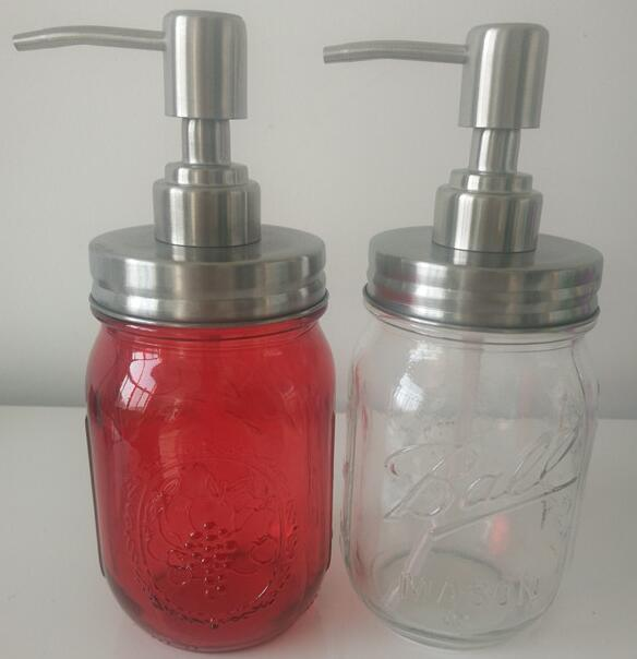 New Product Glass Push Type for Hand Washing, Shower Gel