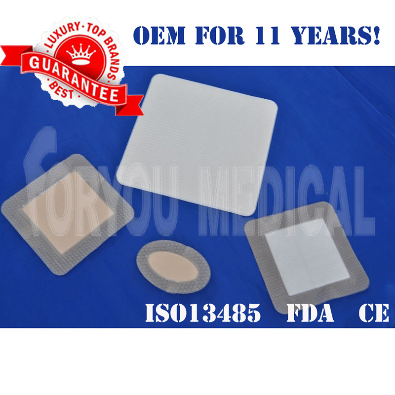 2016 Premium Luofucon Medical Scar Silicone Gel Dressing Sheet CE/FDA/ISO13485