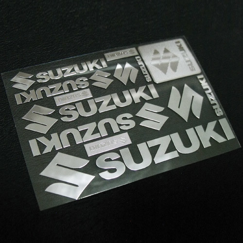 Custom Electroform Nickel Sticker