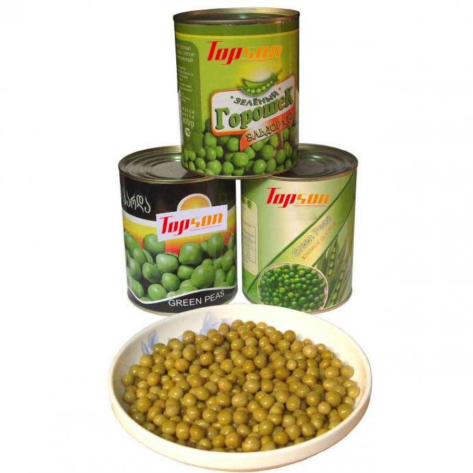 Highly Delicious Canned Green Peas
