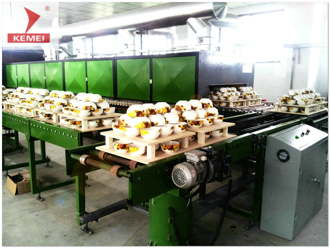 Roller Kiln for Porcelain China Tableware