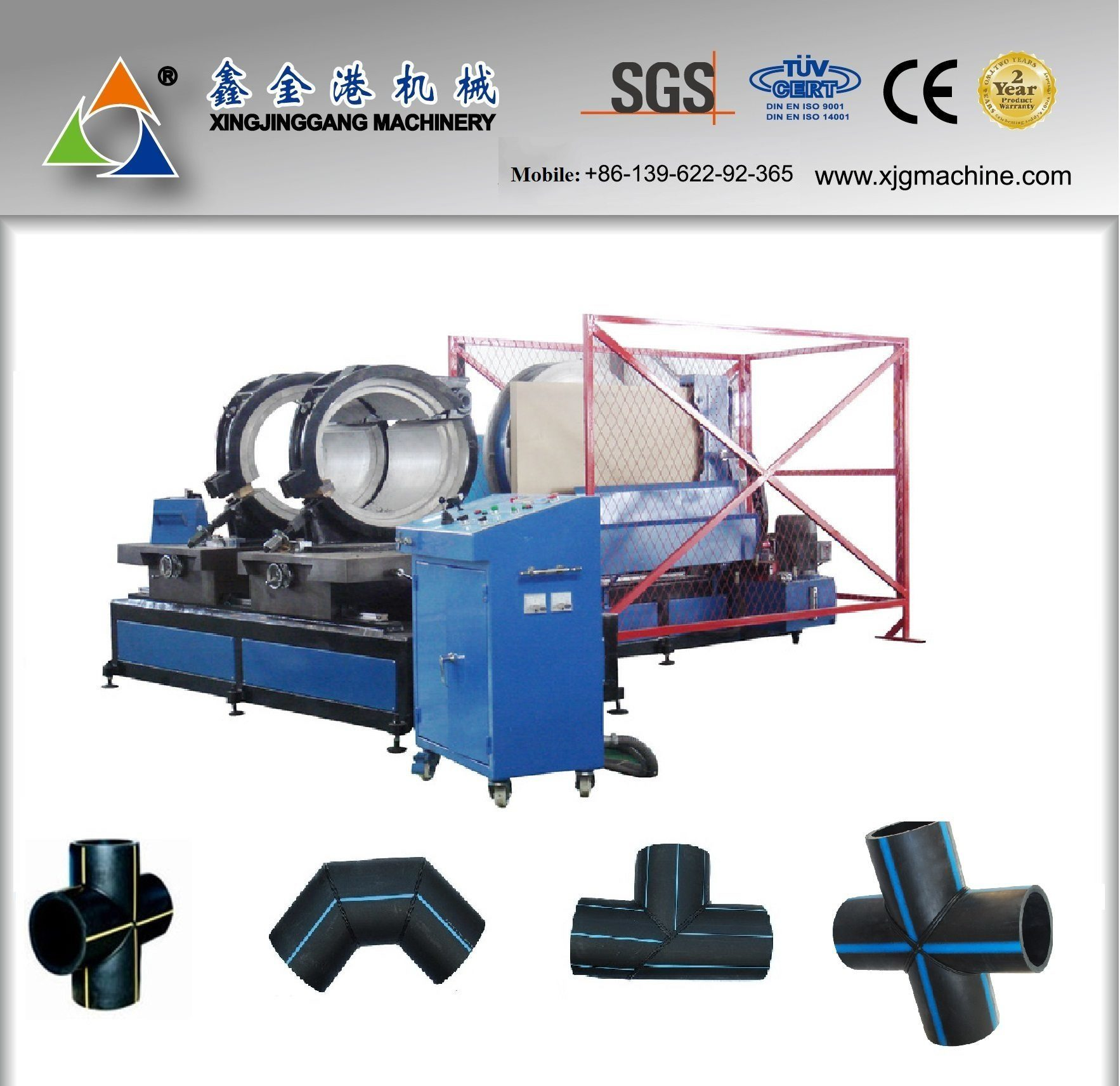 HDPE Pipe Fitting Jointing Machine