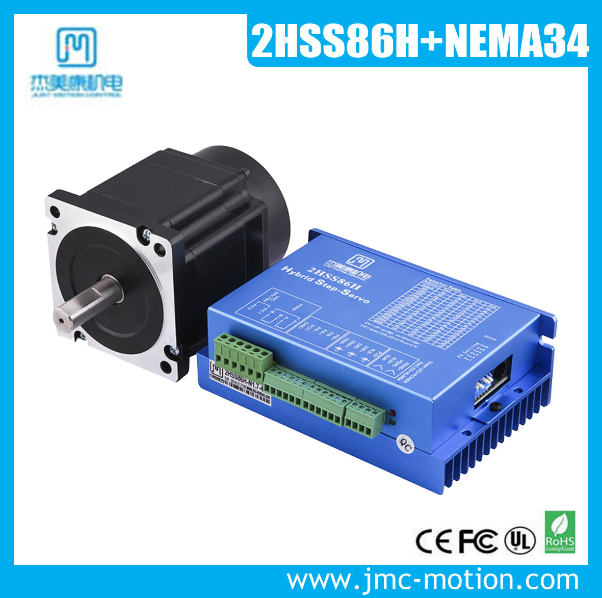 Closed Loop Stepper Driver Match NEMA34 Motor with Encoder