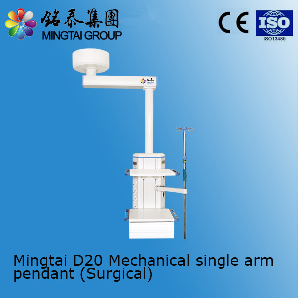 Single Arm Surgical Pendant D20 with Ce&ISO Certificate