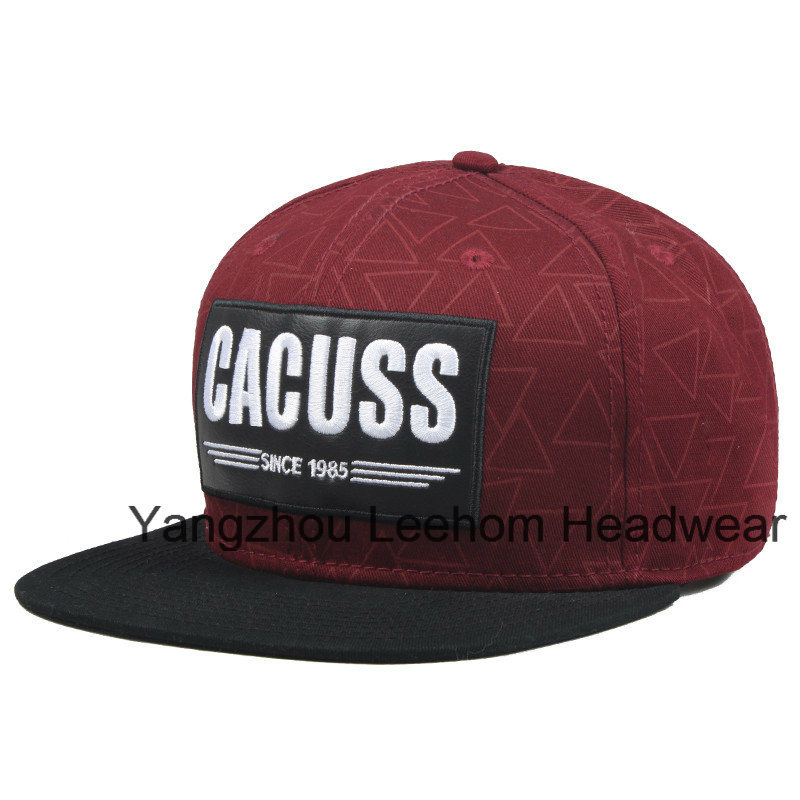 New Snapback Era Flat Brim Fiftted Hat for Promotion