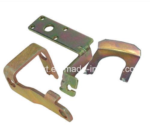OEM Pricision Yellow Zinc Plating Small Metal Stamping