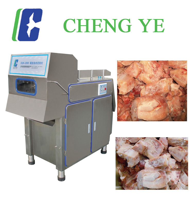 Frozen Meat Cutter/Cutting Machine 600kg with CE Certification 5.5kw