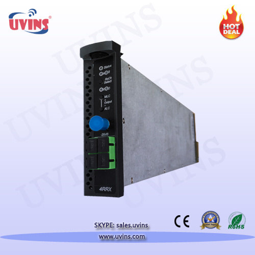 1310nm Four Way Reverse Return Optical Receiver Module/CATV Transmission Platform