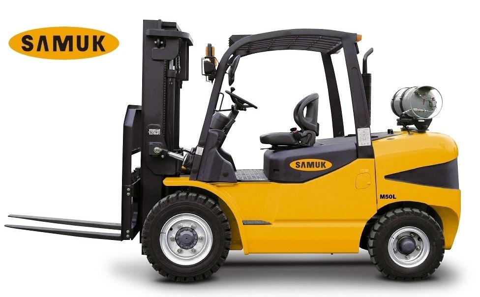 Gasoline LPG Forklift 4.0-7.0ton