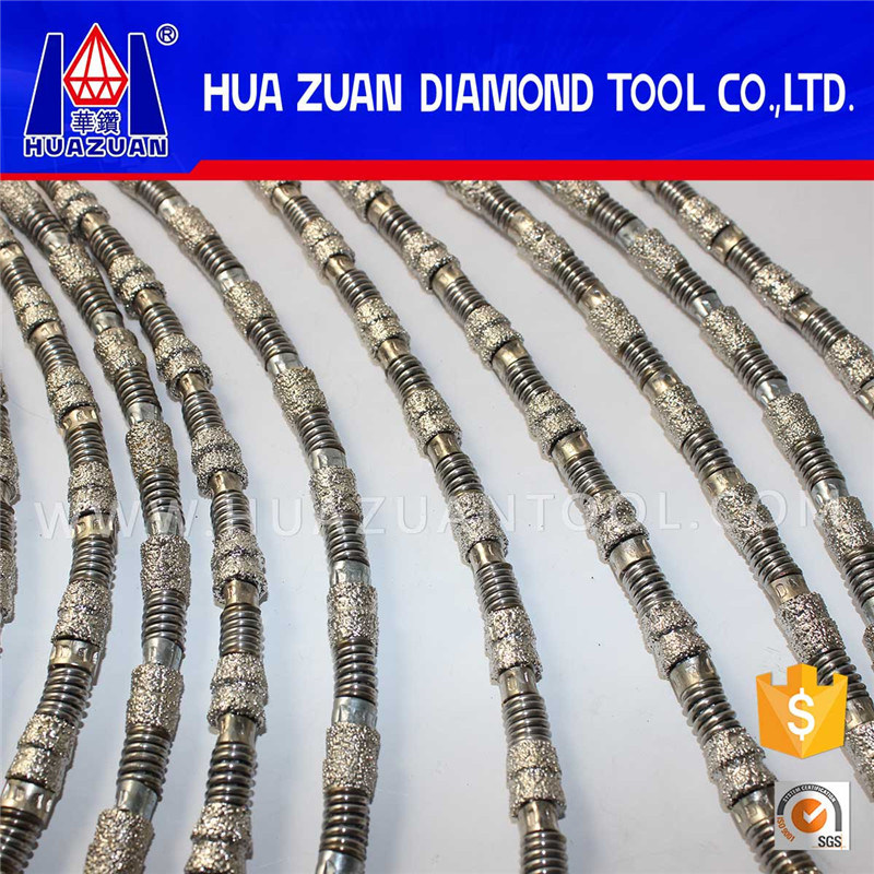 Aggressive Vacuum Brazed Diamond Wire Saw