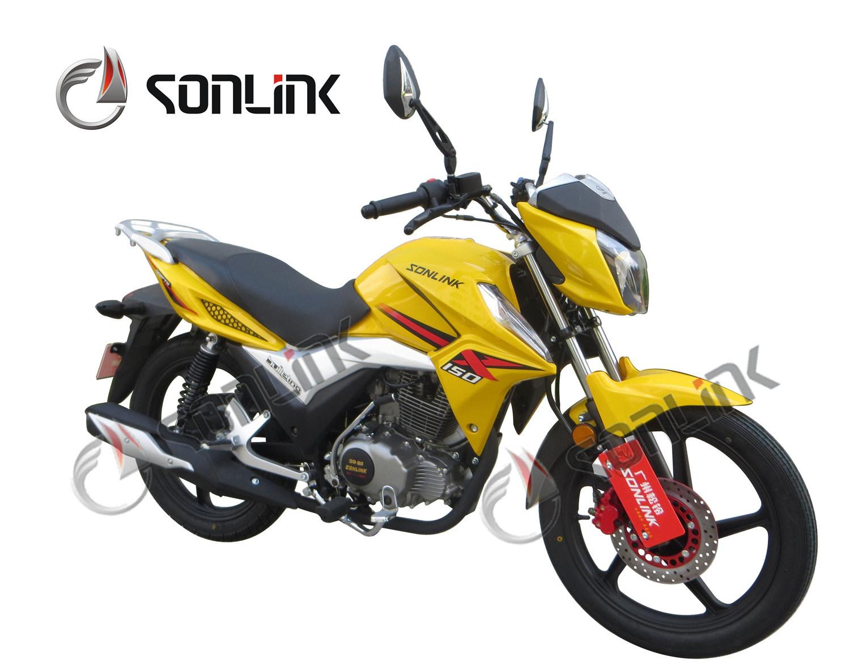 125/150cc Street Disc Brake Alloy Wheel Racing Bike Motorcycle (SL150-F1)